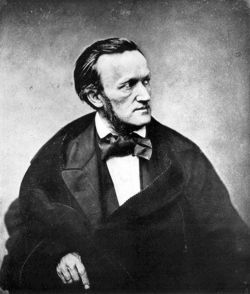 Richard Wagner 1860 in Paris