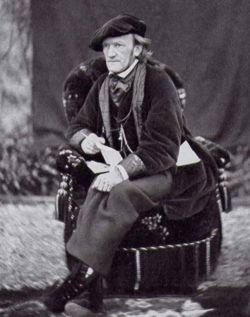 Richard Wagner 1868 in Luzern