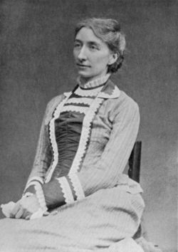 Cosima Wagner 1877 in London