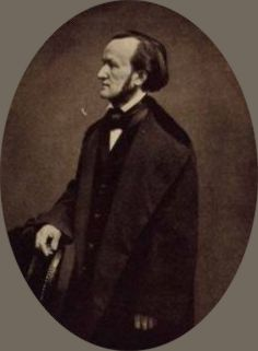 Richard Wagner 1860 in Brüssel